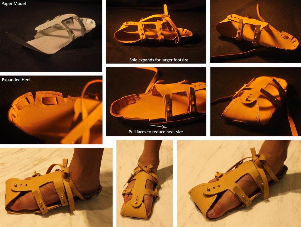 expandable shoe