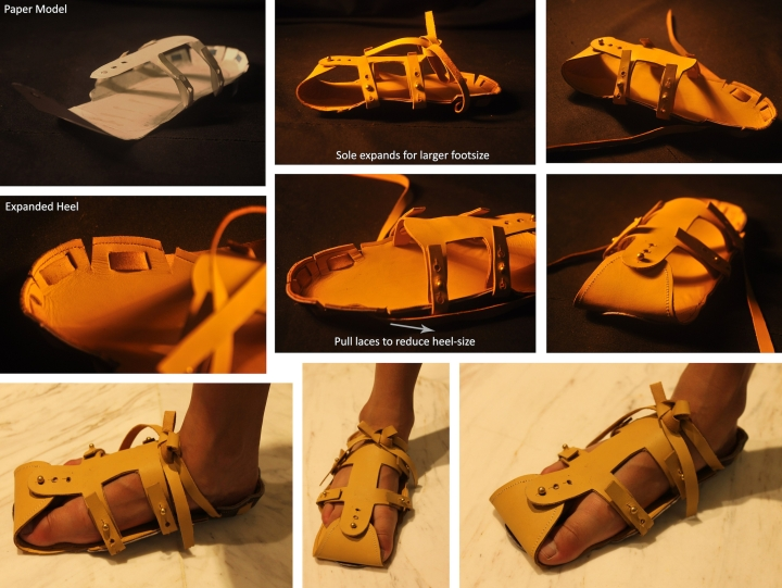 expandable shoe
